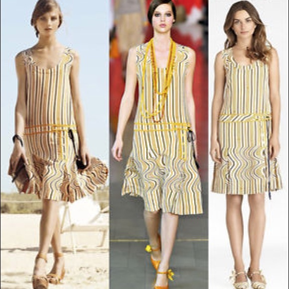 Tory Burch Dresses & Skirts - Tory Burch 100% Silk Logo Dress